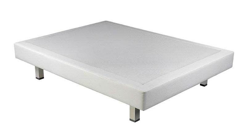 Base Ergobox tapizada polipiel y tejido 3D transpirable de Pikolin