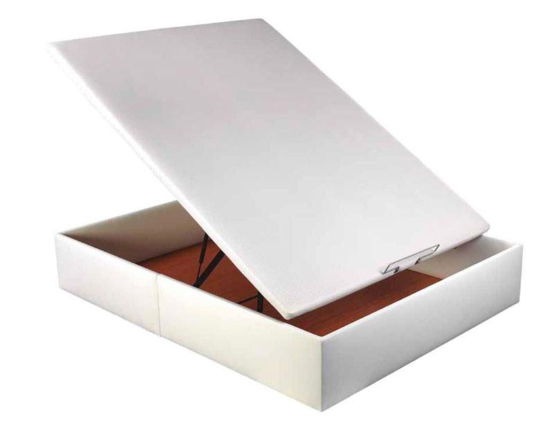 Canapé abatible polipiel con tapa 3D transpirable de Pikolin