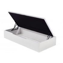 Canapé abatible madera 25 Flex con apertura lateral - blanco abierto