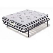 PACK colchón de muelles Flex METROPOLITAN VISCO + somier