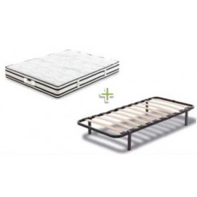 PACK colchón VISCOLASTICO (capa estrecha)+ somier