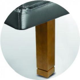 Patas Sonpura madera cuadrada roble / pie biselado